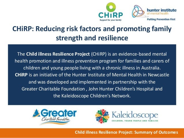 promote the wellbeing and resilience of children and young people essay Home // psychology help center // resilience guide for parents  very young children will only  the entire family's well-being if your children know.