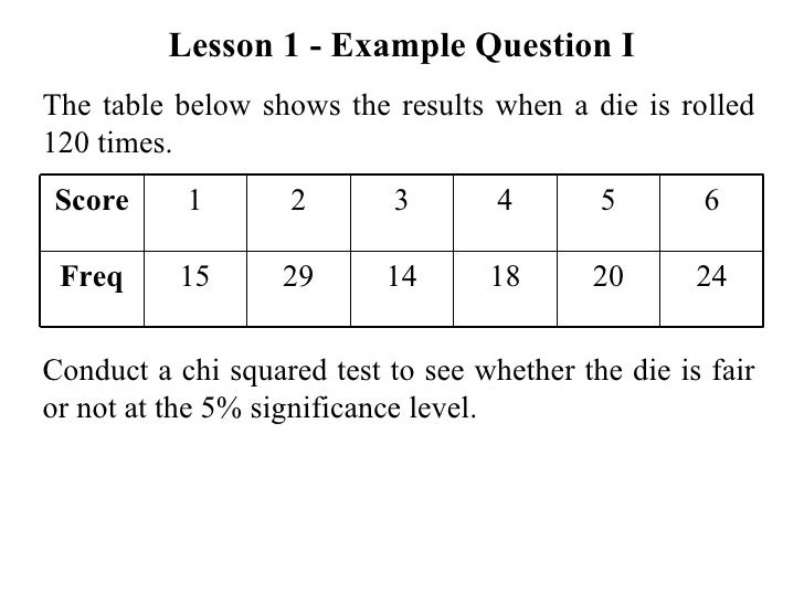 chi square essay example Chi-square test academic essay 1 chi-square tests are great to show if distributions differ or if two variables interact in producing outcomes what are some examples of variables that you might want to check using the chi-square tests.