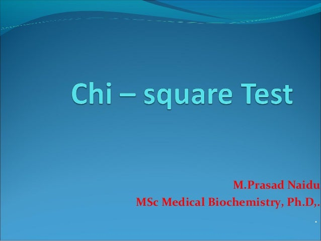 M.Prasad Naidu MSc Medical Biochemistry, Ph.D,. .