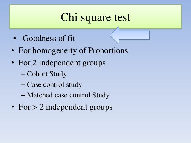 the chi square goodness of fit test essay The goodness-of-fit test is applied to corroborate our assumption g 2 and compare them to appropriate chi-squared distributions to make a decision.