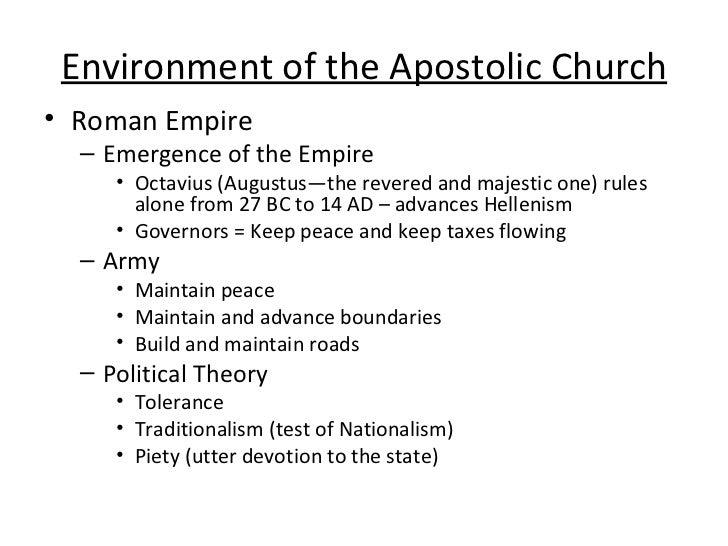 Church History Powerpoint