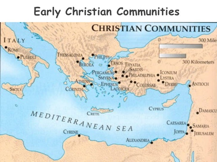 Church history powerpoint 24 early christian sciox Choice Image