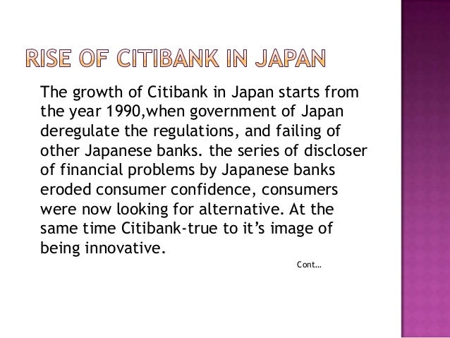 Case analysis citibank