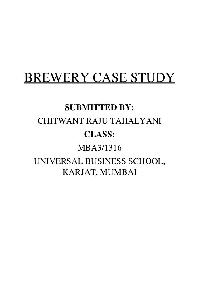brewing industry case study Adolph coors in the brewing industry menu adolph coors in the brewing industry case study pankaj this promotion code field is case sensitive so please type.
