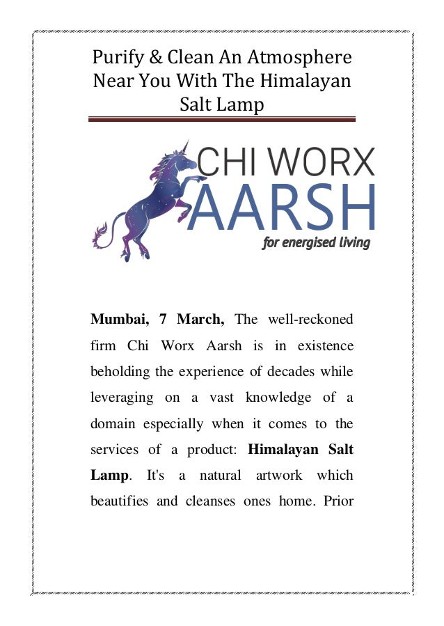 Chi worx aarsh best himalayan rock salt lamp distributors
