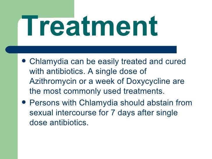 Chlamydia symptoms after treatment azithromycin for chlamydia
