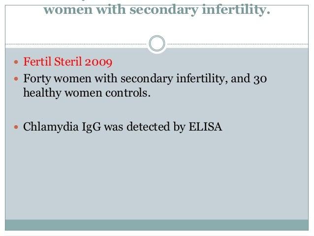 steril efter klamydia