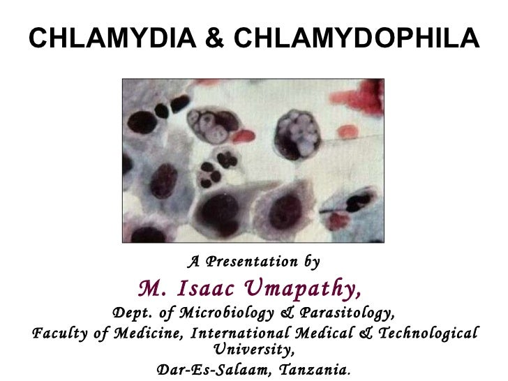 A Presentation by M. Isaac Umapathy,  Dept. of Microbiology & Parasitology, Faculty of Medicine, International Medical & T...