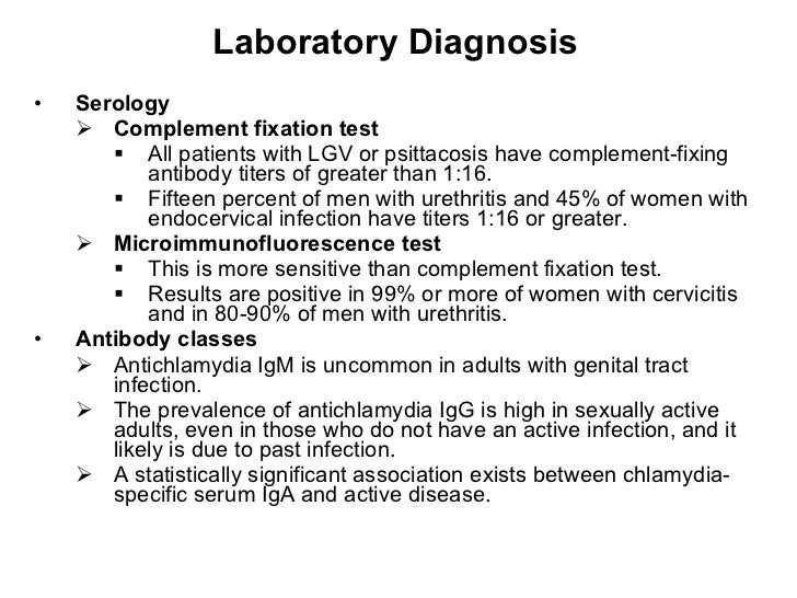 psittacosis diagnosis