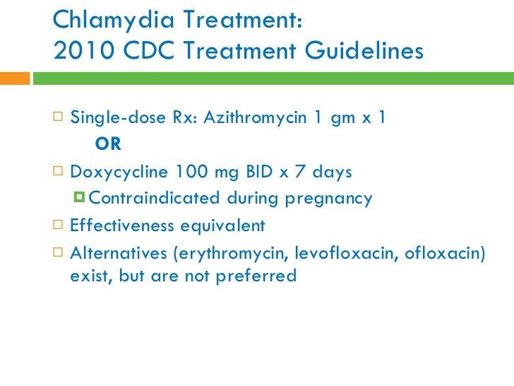 Success chlamydia azithromycin rate