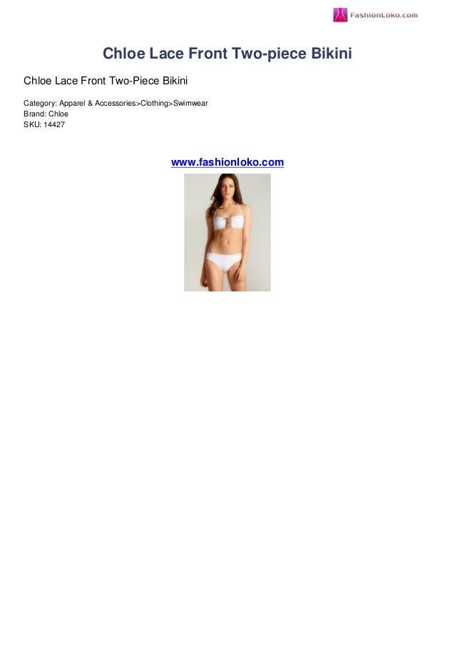 Chloe Lace Front Two-piece BikiniChloe Lace Front Two-Piece BikiniCategory: Apparel & Accessories>Clothing>SwimwearBrand: ...