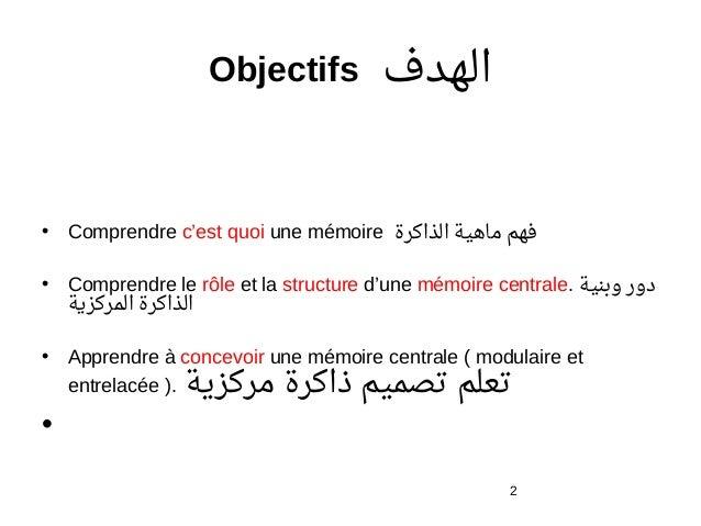 Ch memoires for Architecture modulaire definition