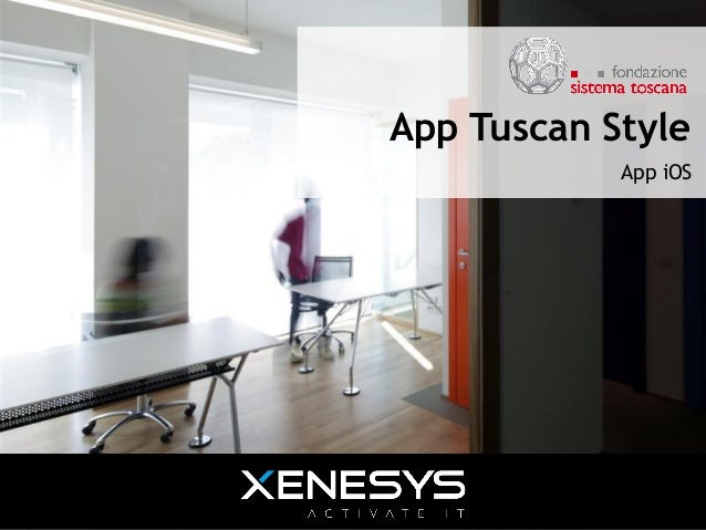 App Tuscan Style App iOS