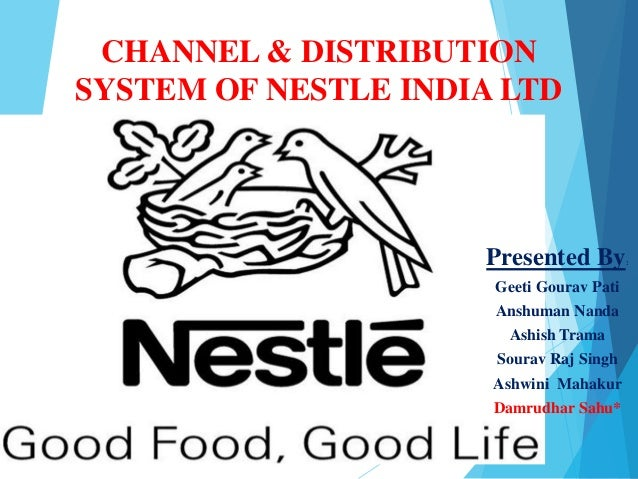 nestle india limited distribution network analysis