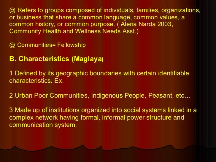 community health nursing by maglaya book