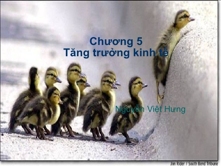 Chương 5 Tăng trưởng kinh tế Nguyễn Việt Hưng