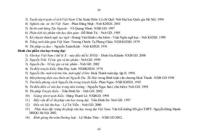 28    3) Tuyển tập truyện cổ tích Việt Nam- Chu Xuân Diên- Lê chí Quế- Nxb Đại học Quốc gia Hà Nội. 1996    4) Nghiên cứu ...