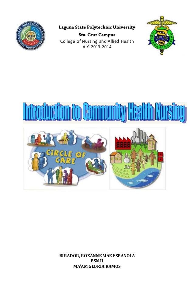 Community Health Nursing (Notes)