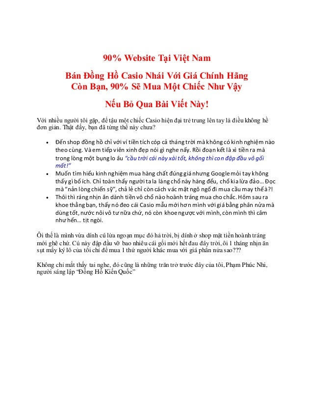 Nơi nào mua đồng hồcasiodâyinox - Nơi nàomua đồnghồ casio3 kim 90% Website Tại Việt Nam Bán Đồng Hồ Casio Nhái Với Giá Chí...