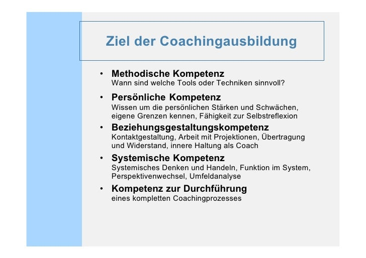 Was zeichnet die Ausbildung aus?   • Sie verbindet die Ansätze der systemischen    und gestaltorientierten Beratung   • Pr...