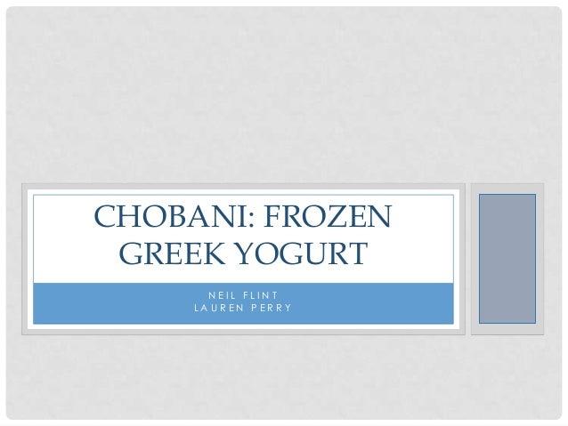 case study chobani yogurt essay