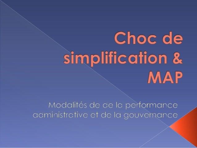  LA Modernisation de l'Action Publique est la énième étape de la réforme de l'Etat à la lumière de la performance publiqu...