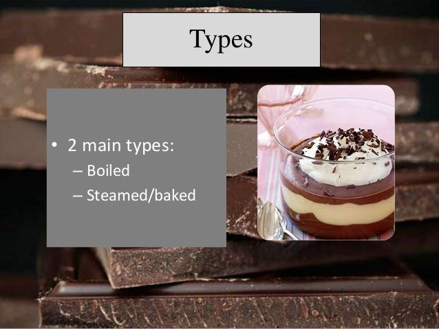 Menu  Chocolate-banana pudding  Chocolate Pudding Sundaes  Tofu chocolate pudding  Skinny Chocolate  Pudding Parfaits