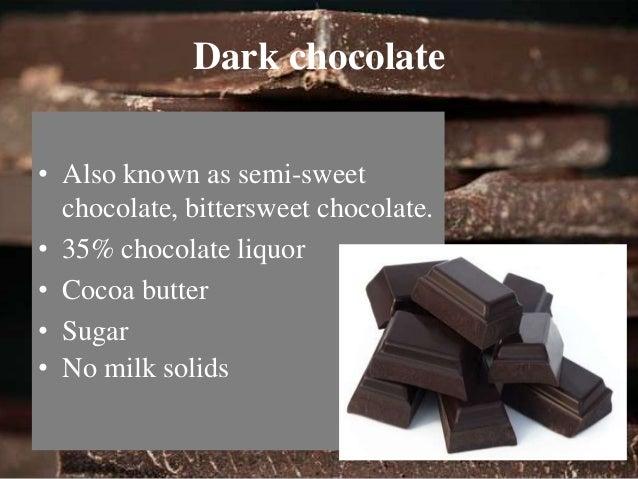 Milk chocolate  • 10% chocolate liquor  • cocoa butter  • Sugar  • At least 12% milk.