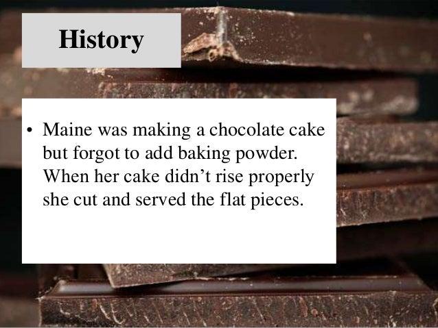 Types  • Fudgy Brownies  • Chewy Brownies  • Cakey Brownies