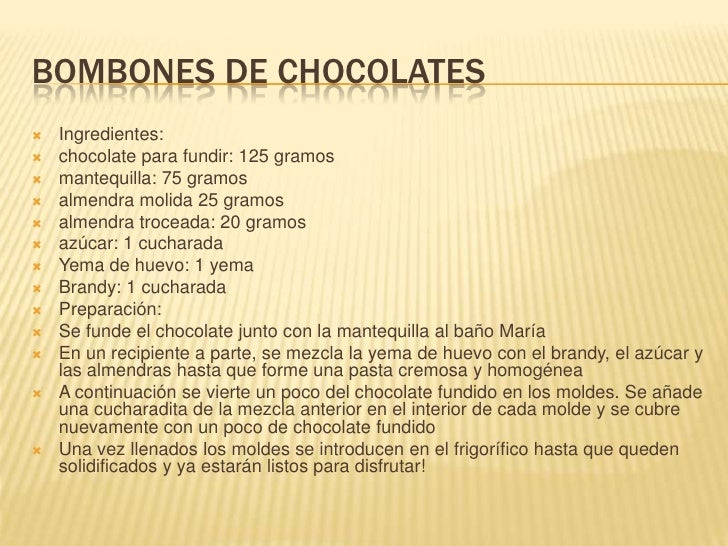 Ch ocolates Slide 3
