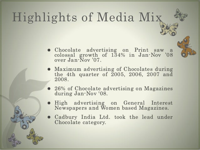 marketing mix for chocolate Let us start the cadbury marketing mix: in 1824 john cadbury opened a grocers shop in birmingham and he started selling cocoa and chocolate for drinking.