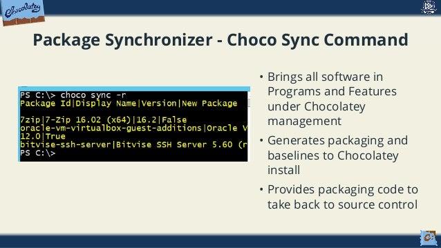 Chocolatey + DSC = Software Automation Sweeter - PowerShell