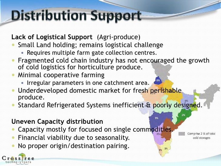 cold chain prospects in india Laws, are creating opportunities in the domestic food industry, which includes the   the total value of india's cold chain industry is currently estimated at usd 3.
