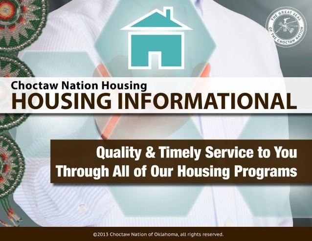 Choctaw Nation Home Loan Program | Flisol Home