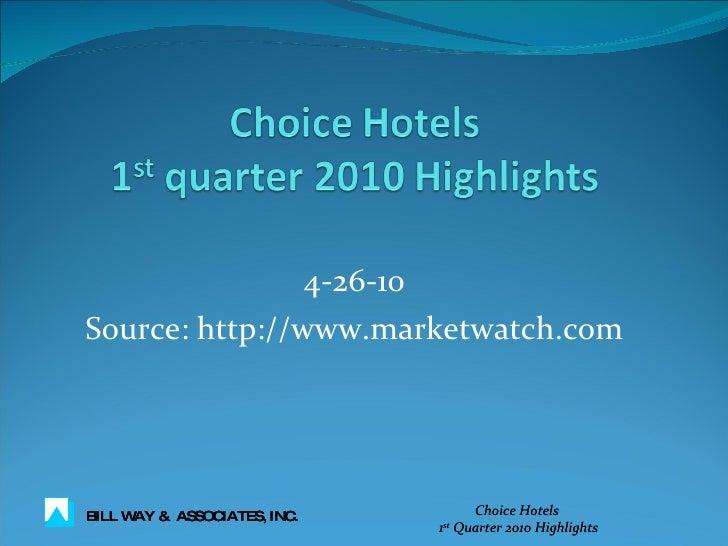 4-26-10 Source: http://www.marketwatch.com