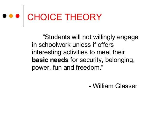 """Students will not willingly engagein schoolwork unless if offersinteresting activities to meet theirbasic needsbasic need..."