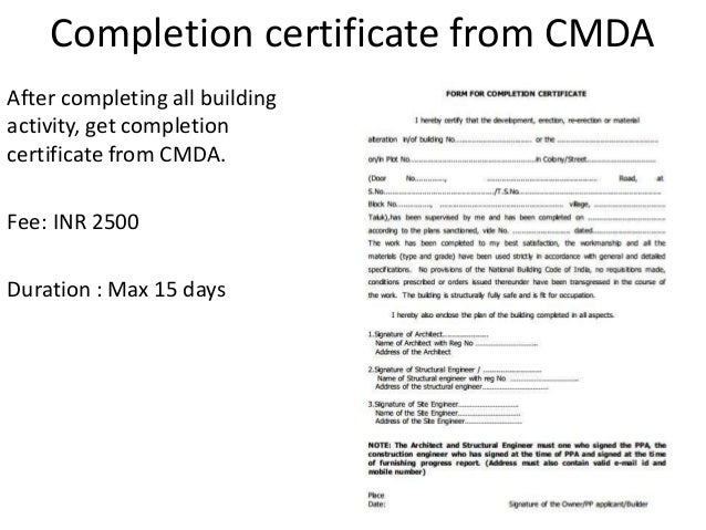 Building completion certificate sample fiveoutsiders sample completion certificate building construction gallery sample completion certificate building construction image sample completion certificate building yadclub Gallery