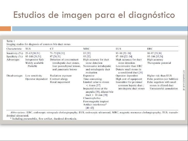 Estudios de imagen para el diagnóstico