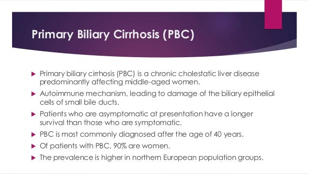 Cholestatic liver diseases in adults