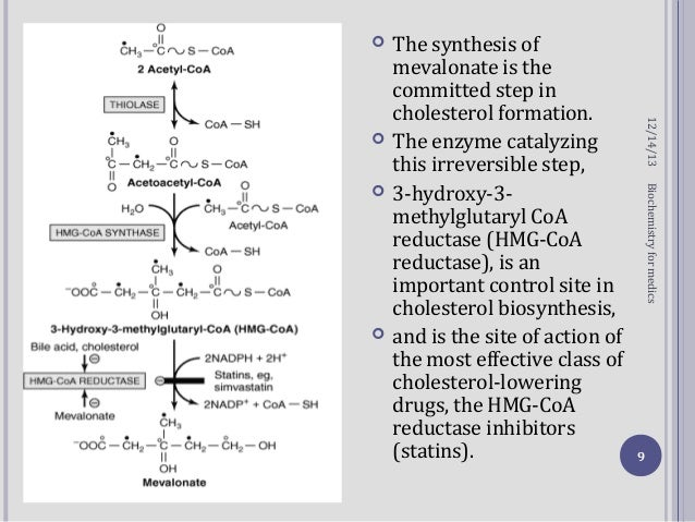 biosynthesis of cholesterol steroids and isoprenoids