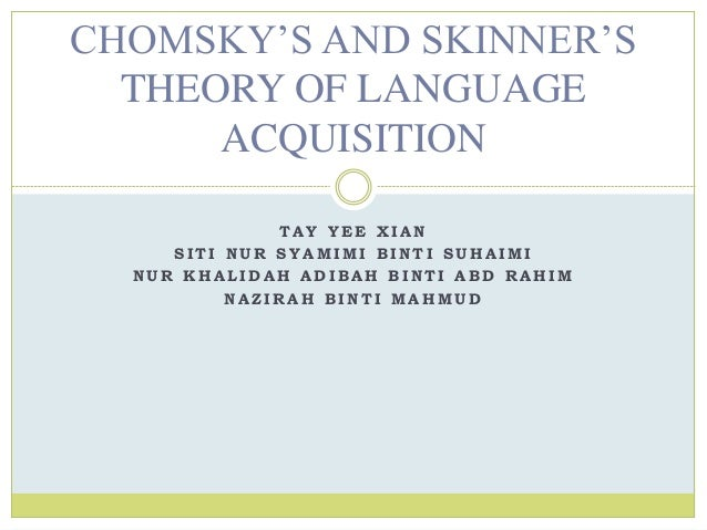chomsky 1993 language and thought relationship