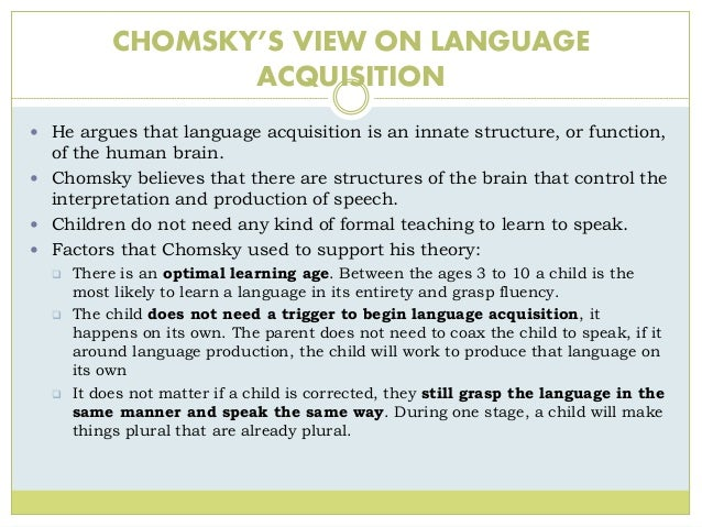 bf skinner second language acquisition