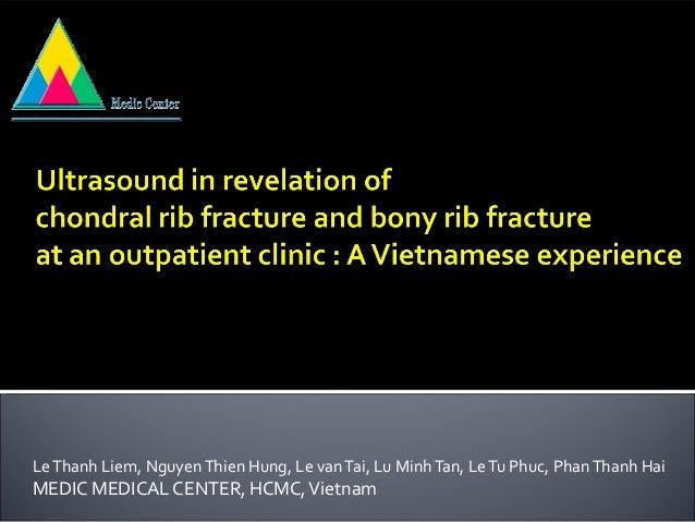 Le Thanh Liem, Nguyen Thien Hung, Le van Tai, Lu Minh Tan, Le Tu Phuc, Phan Thanh HaiMEDIC MEDICAL CENTER, HCMC, Vietnam