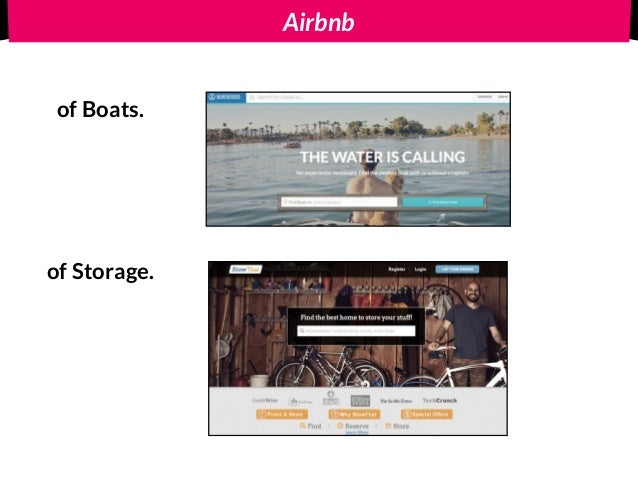 Airbnb of Boats. of Storage.