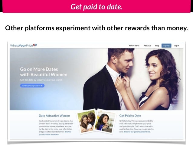 Dating website where you get paid