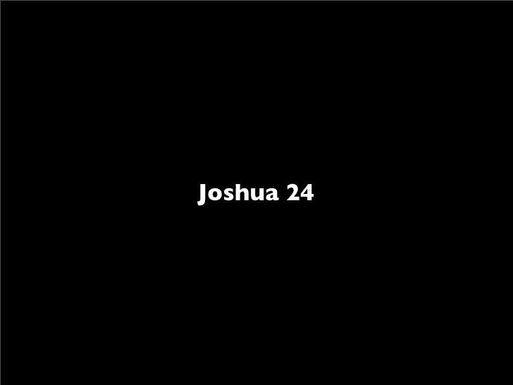Joshua 24