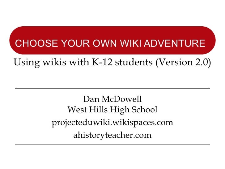 Choose Your Own Wiki Adventure V2