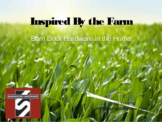 Inspired By The Farm Barn Door Hardware In The HomeBarn Door Hardware In  The Home 1 ...