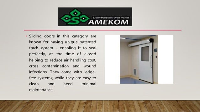• Sliding doors in this category are known for having unique patented track system – enabling it to seal perfectly, at the...
