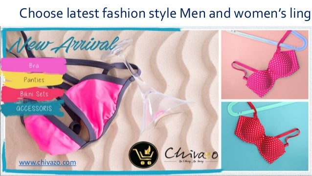 7a59024723 Choose latest fashion style Men and women's lingerie in India